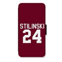 Teen Wolf stilinski 24 Card Slot Leather Phone Cover for iPhone 5c Covers