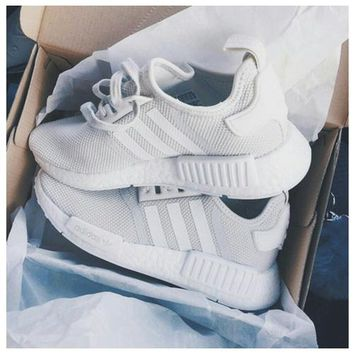 ADIDAS NMD Fashion Casual Shoes for Men and Women F grey