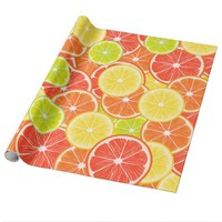 Citruses Wrapping Paper