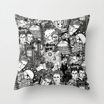 The Untempered Schism Throw Pillow by Sharon Turner