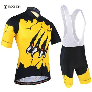 BXIO Men Cycling Jersey Road Bike Bicycle Ropa Ciclismo Maillot Cycling Clothing Bib Short Outdoor Champion Clothes BX-0209M188
