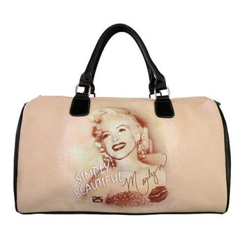 Marilyn Monroe Large Overnight Bag, Simply Beautiful
