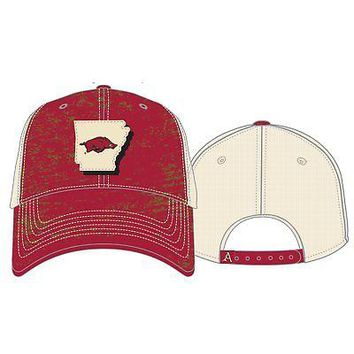dd05cc7574d Licensed Arkansas Razorbacks NCAA Adjustable Youth United Hat Cap Top of  the World KO 19 1