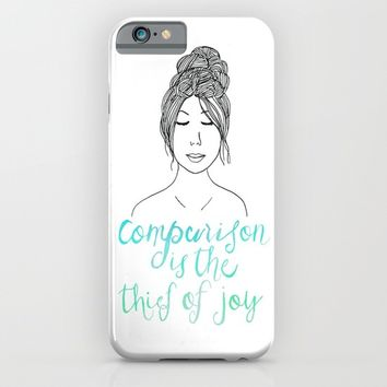 Comparison is a Thief iPhone & iPod Case by Tangerine-Tane