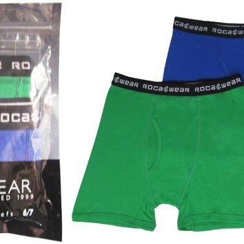 Rocawear Boy's 2-Pc-Pack Cotton Boxer Brief Large - CASE OF 48