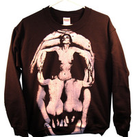 Pleasure of Death - Dali/ Halsman Unisex Sweatshirt sizes S-M-L-XL
