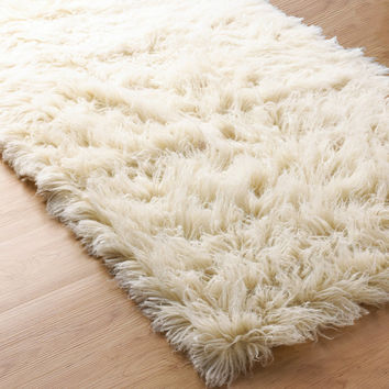 Superior Flokati Sheepskin Rug