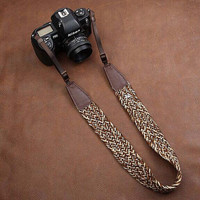 Woven camera strap Leather camera strap Nikon camera strap Canon camera strap cotton camera strap universal camera strap