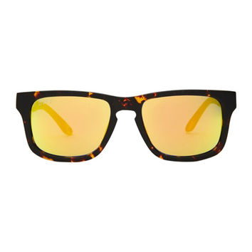 RILEY - TORTOISE FRAME - GOLD MIRROR LENS