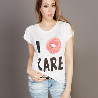 I Donut Care Tee | Wet Seal