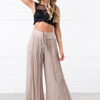 Dancing Under The Moon Boho Pants (Sand)