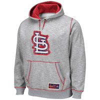 Majestic St. Louis Cardinals Forged Tradition Pullover Hoodie - Gray