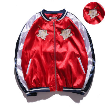 Sports Hot Deal On Sale Embroidery Winter Windbreaker Double-layered Baseball [10191548615]