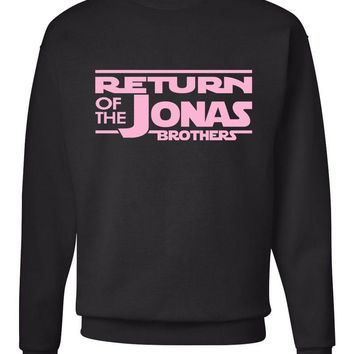 Return of the Jonas Brothers Crew Neck Sweatshirt