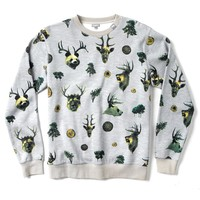 LRG - LRG The Wild Sweatshirt - Ash - Mens