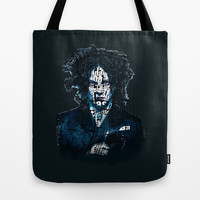 Typo-songs Jack White Tote Bag by Daniac Design