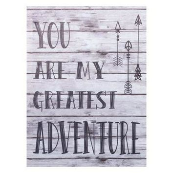 My Greatest Adventure Canvas Wall Art