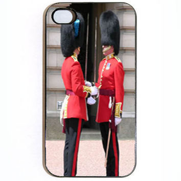 iPhone 4 4s Changing The Guards Hard iPhone Case by KustomCases