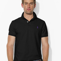 CUSTOM-FIT MESH POLO