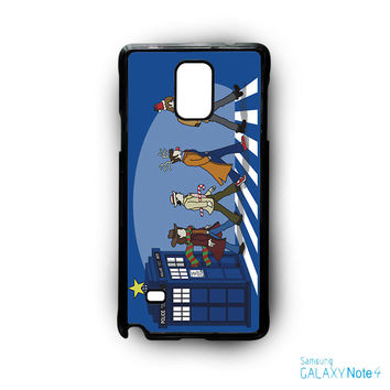 Tardis Doctor Who The Beatles for Samsung Galaxy Note 2/Note 3/Note 4/Note 5/Note Edge phone case