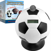 Soccer Ball Digital Coin Counting Bank by TG