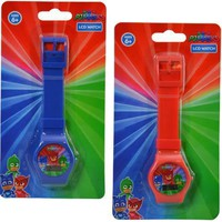 Party Favors PJ Masks Digital Watch on Blister Card 2 Colors Asstd.