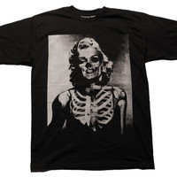 Marilyn // Tee // Black | ACTUAL PAIN