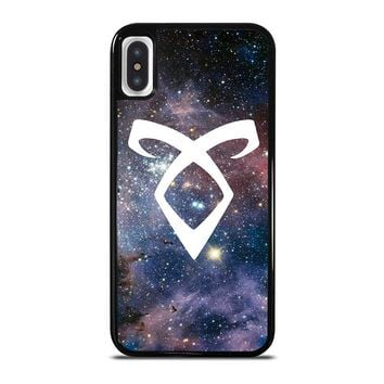 SHADOWHUNTERS ANGELIC RUNE NEBULA iPhone X Case Cover
