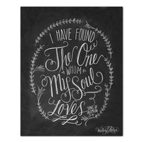 Song Of Solomon 3:4 - Print