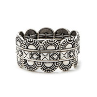 Etched Bracelet Set