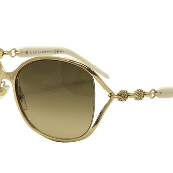 Gucci Sunglasses - 4250/N/S / Frame: Gold Lens: Brown Gradient