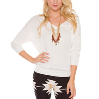 Mila Sweater - Ivory