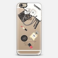 CHANEL SHOPPING (Transparent) Chanel N°5 iPhone 6s case by Ylfa Grönvold Illustrations | Casetify