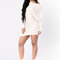 My Only Wish Dress - Ivory/Gold