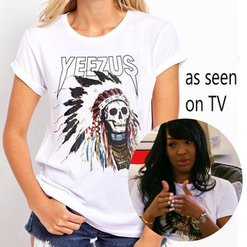yeezus shirt used by malika