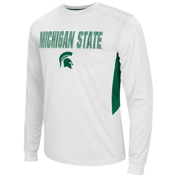 Michigan State Spartans Trainer Long Sleeve T-Shirt – White