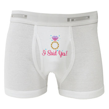 I Said Yes - Diamond Ring - Color Boxer Briefs