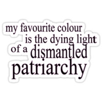 A Feminist's Favourite Colour