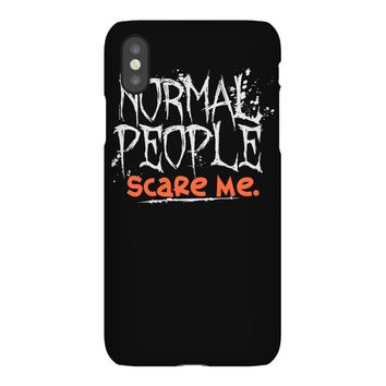 normal people scare me iPhoneX