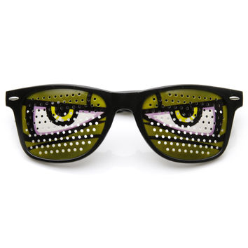 Novelty Poker Face Cartoon Eyes Costume Party Sunglasses 9303