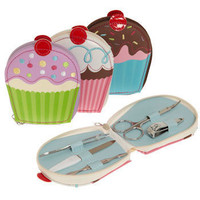 Sweeter than a Cupcake Manicure Set | Mod Retro Vintage Decor Accessories | ModCloth.com