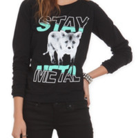 Miss May I Fox Girls Pullover Top 3XL