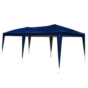 10' x 20' Pop Up Canopy Wedding Party Tent Gazebo with Carry Bag Outdoor Camping Canopy Party Event Tent Pavilion - US Stock
