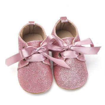 New Newborn Baby Girl Glitzy Shoes All Sizes