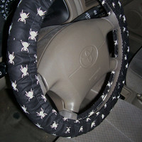 Goth Bug Steering Wheel Cover