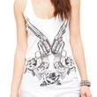 Six Shooters Girls Tank Top