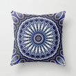 China Blue Throw Pillow by Peter Gross