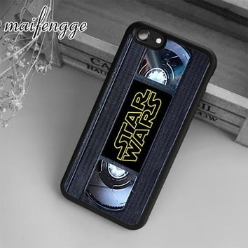 Star Wars Force Episode 1 2 3 4 5 maifengge cassette vintage  Case For iPhone 6 6S 7 8 Plus X 5 5S SE Case cover for Samsung S5 S6 S7 edge S8 Plus shell AT_72_6