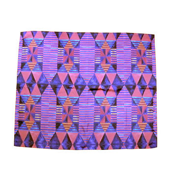 Egyptian Quilt Silk Scarf