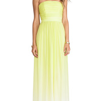 ERIN erin fetherston Isabelle Gown in Yellow